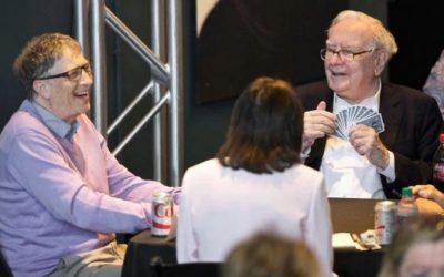 Warren Buffett & Bill Gates love playing bridge